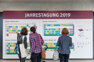 Programmübersicht der Jahrestagung 2019